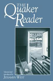 Cover of: The Quaker reader | selected and introduced by Jessamyn West.