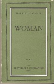 Woman Thing by Harriet Daimler