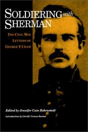 Cover of: Soldiering with Sherman