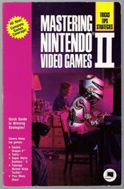 Cover of: Mastering Nintendo Video Games II | Judd Robbins