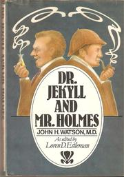 Cover of: Dr. Jekyll and Mr. Holmes