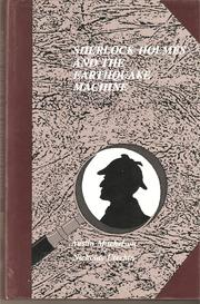 Cover of: Sherlock Holmes and the Earthquake Machine