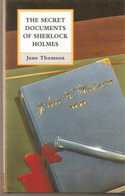 Cover of: The Secret Documents of Sherlock Holmes