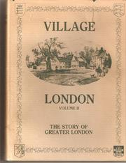 Village London by Edward Walford