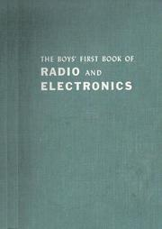 Cover of: First book of radio and electronics