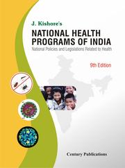 Cover of: National health programs of India by J. Kishore
