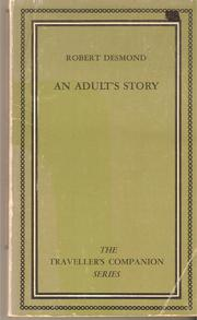 Cover of: An Adult's Story