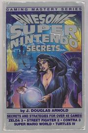 Cover of: Awesome Super Nintendo Secrets
