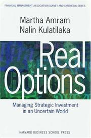 Cover of: Real options by