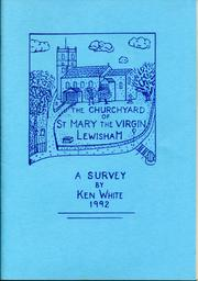 Cover of: The churchyard of St. Mary the Virgin, Lewisham