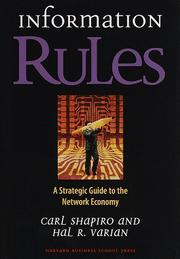 Cover of: Information rules | Carl Shapiro