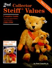 Cover of: 2nd collector Steiff values