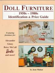 Cover of: Doll furniture 1950s-1980s identification & price guide