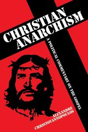 Cover of: Christian Anarchism |