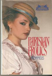 Cover of: Parisian Frolics | Anonymous