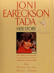 Cover of: Joni Eareckson Tada: her story.