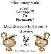 Italian pottery marks (2005 edition) | Open Library