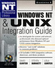 Cover of: Windows NT & UNIX integration guide