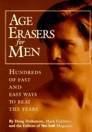 Cover of: Age erasers for men
