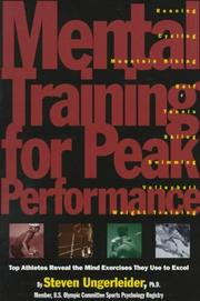 Cover of: Mental training for peak performance