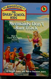 Cover of: Mermaids dont run track