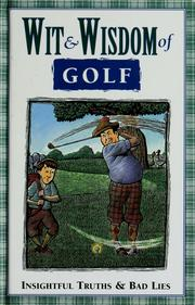 Cover of: Wit & wisdom of golf