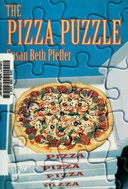 Cover of: The pizza puzzle / Susan Beth Pfeffer
