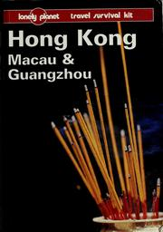 Cover of: Hong Kong, Macau & Guangzhou