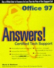 Cover of: Office 97 answers!