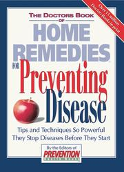 Cover of: The Doctors Book of Home Remedies for Preventing Disease