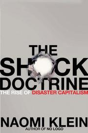 Cover of: The shock doctrine |