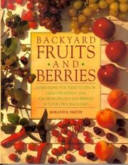 Cover of: Backyard Fruits and Berries