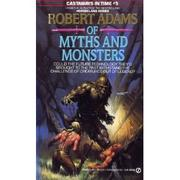 Cover of: Of myths and monsters