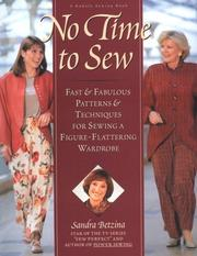 Cover of: No Time to Sew