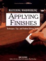 Cover of: Applying Finishes