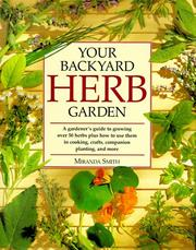 Cover of: Your backyard herb garden