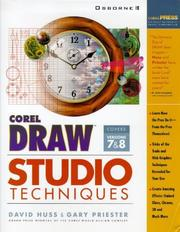 Cover of: Corel Draw studio techniques