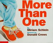 Cover of: More than one | Miriam Schlein
