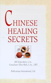 Cover of: Chinese healing secrets