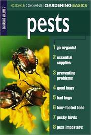 Cover of: Pests | The Editors of Organic Gardening Magazine