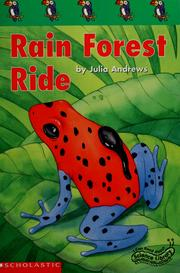 Cover of: Rain forest ride | Julia Andrews
