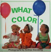 Cover of: What color? | Anthea Sieveking