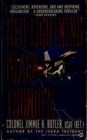 Cover of: Red lightning, black thunder | Jimmie H. Butler