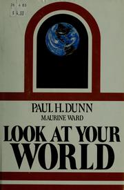 Cover of: Look at your world