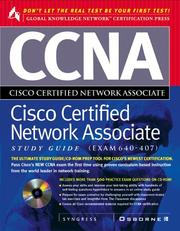 Cover of: CCNA Cisco Certified Network Associate Study Guide | Syngress Media