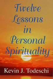Cover of: Twelve lessons in personal spirituality