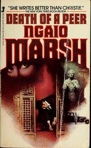 Death of a Peer (Roderick Alleyn #10) by Ngaio Marsh