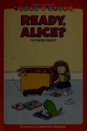 Cover of: Ready, Alice? | Margo Mason