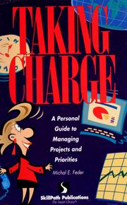 Cover of: Taking Charge | Michal E. Feder