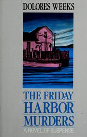Cover of: The Friday Harbor murders